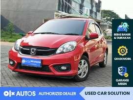 [OLX Autos] Honda BRIO 2018 E CVT 1.2 A/T Merah #used car