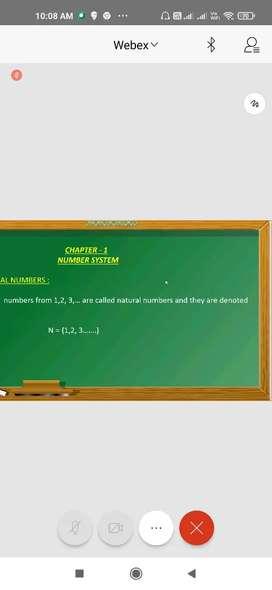 Online maths Tution