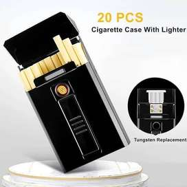 Cigarettes Case with Lighter and Usb18991