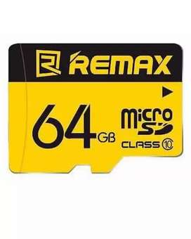 Remax 64GB Memorycard in warranty