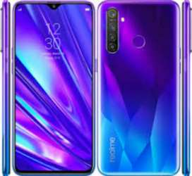Realme5pro8/128with box charger xchng possible