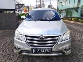 CASH Toyota Innova 2.0 V AT Luxury 2014 Km 73rb