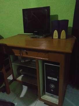 Dijual seperangkat komputer lengkap