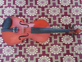 Violin with Bow & Carry case(As good as new)