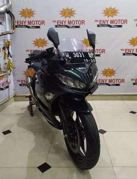 New stock! New Kawasaki Ninja 250 FI th 2018 ordometer 5 rb skuy takis