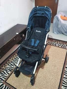 Jual Stroller Cocolatte Otto R Army Blue