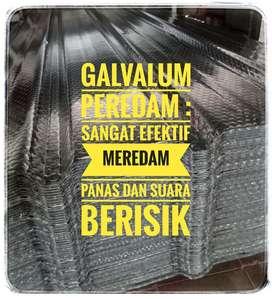 Promo Galvalum peredam panas dan suara berisik, asli 100 %