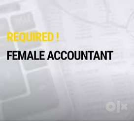 Required female accountant