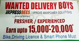 Online products delivery