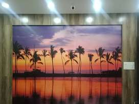 "You can  select  any  image  to  your  home :""wallpaper""at poojapura"