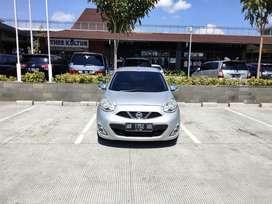 Nissan March 2014 silver plat AB jok kulit cakep (2014)
