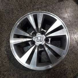 "Used Original Alloy Wheels 16"" for Honda Accord and Civic."