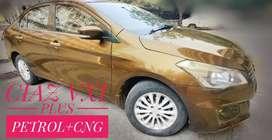 Maruti Suzuki Ciaz 2017 Petrol + CNG Good Condition