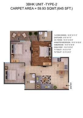 ROF Amaltas Sector 92 Overview ROF Amaltas, an affordable housing proj