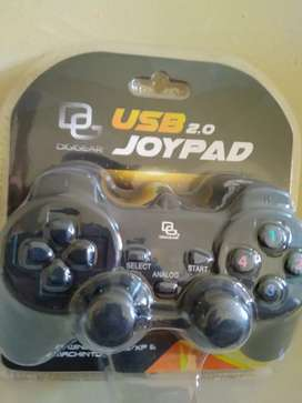 USB Joystick Joypad Single Untuk Komputer Laptop