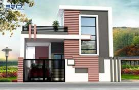 2 BHK under construction house available for sale at  uslapur.