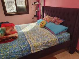 Double bed queen size And Double King size.