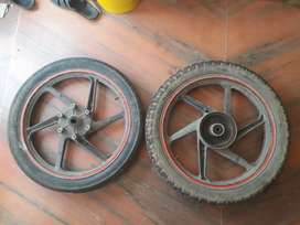 Honda unicorn alloy wheels