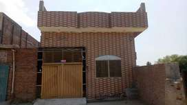 Newly constructed house for sale 5 Marla 20/70 length one drawing room