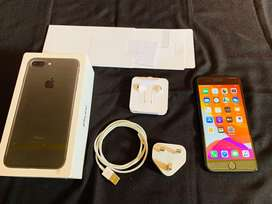 iphone 7 plus 128 gb fullset mulus bergransi
