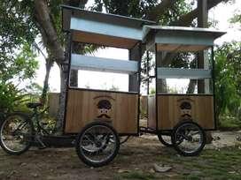 Gerobak Sepeda Kekinian