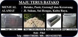 Material bangunan, Pasir, Batako,Roster dan Gorong2