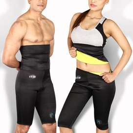 Get In Shape Fitness Belt Reduce Belly And Waist Fat For Men And Women