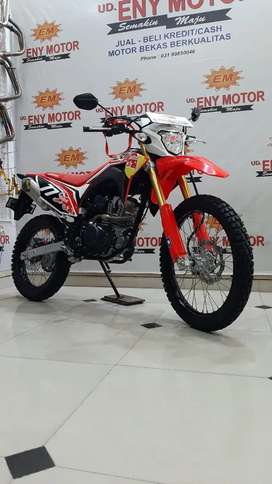 Stock limit. Honda CRF th 2019 Km 800 Knalpot double