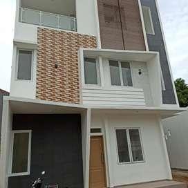 rumah cluster modern 3 lantai cipinang rawamangun