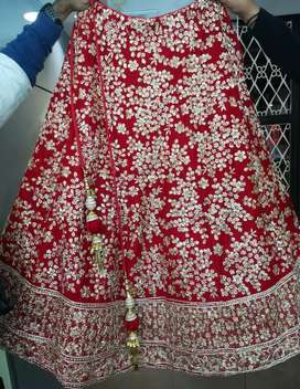Beautiful Red color New Bridal Lehenga