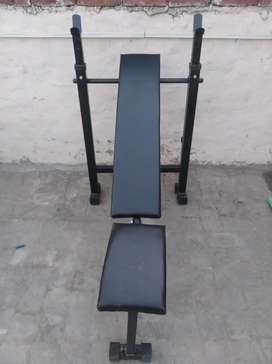 Gym bench 3 in1