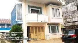 Dijual Rumah Tengah Kota Jln Kapten A.Rivai, Lr. Sambu Palembang