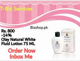 Olay natural white fluide lotion 75ml