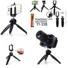 Tripod Mini Yunteng YT-288 + Holder U Stand Tripod