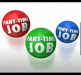 part time jobs are opened where you get a chance to work for India