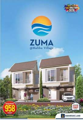 Dijual Zuma at Mallibu start 900jt sdh included fullfurnished