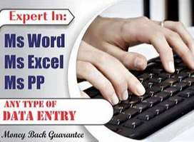Data Entry Job Urgent Hiring [ HR Pallavi (9451 and 168362)