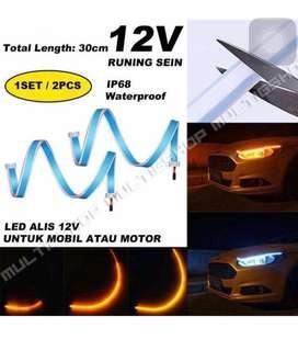 AB 2PCS LAMPU ALIS+SEIN RUNNING 12V 30CM(130rb)45CM(140rb)60CM(150rb)