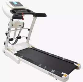 treadmill elektrik arrezo VR-020 electric sepeda statis fitnes