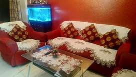 5 seater(3+1+1) sofa with centre table on sale
