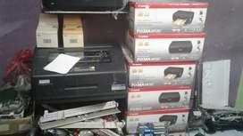 Printer canon mp287 lengkap + infuss