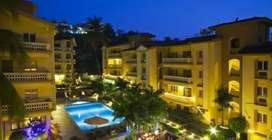 1BHK flat for rent at sandalwood resort near Dona Paula goa