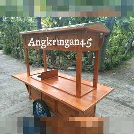 ONGKIR GRATIS, Gerobak/Rombong Angkringan, Bayat, TERPOPULER B048