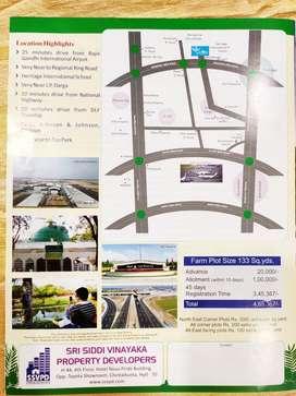 Fatm lands for sale neyar jp darga shadnager