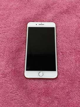 Jual Iphone 8 plus 64 gb gold  second Nego