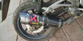 Akrapovik exhaust in good condition