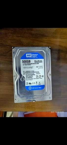 WD Blue Hard Drive 500 GB