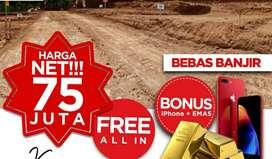 Tanah Syariah Murah di Gunung Pati Semarang Dekat Jalan Raya