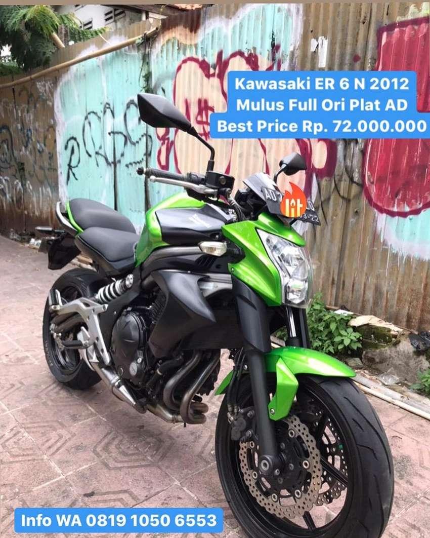 Kawasaki ER6N Jual cepat BU 0