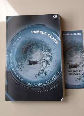 Novel Preloved Unlawful Contact (Kontak Ilegal) by Pamela Clare